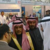 Deputy Minister of Transport visited Specta stand in Saudi Transtec