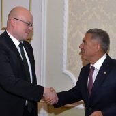 Tatarstan President meets with Finnish Ambassador to Russia